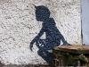 Прогулка по улицам Припяти. Граффити мертвого города (фото, видео)
